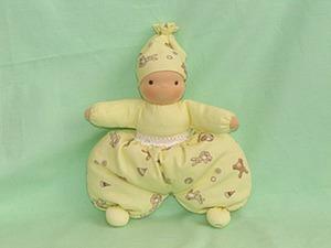 """Шьем игрушку - погремушку """"Малыш в ползунках"""". Ярмарка Мастеров - ручная работа, handmade."""