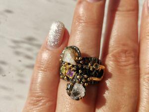 Видео кольцо с морганитом. Ярмарка Мастеров - ручная работа, handmade.