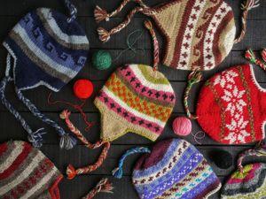 Утепляем ушки ). Скидка 15% на шапки с ушками связанные  из шерсти яка. Ярмарка Мастеров - ручная работа, handmade.