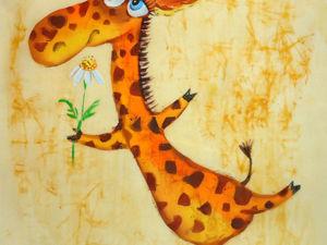 Жирафик. Ярмарка Мастеров - ручная работа, handmade.