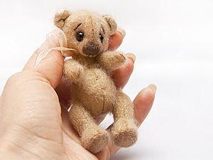 Шьем миниатюрного мишку. Ярмарка Мастеров - ручная работа, handmade.