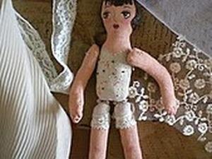 """Делаем куклу """"Балерина"""". Ярмарка Мастеров - ручная работа, handmade."""
