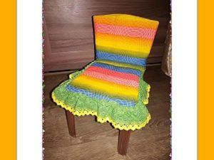Мастерим кукольный стульчик. Ярмарка Мастеров - ручная работа, handmade.