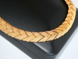 Ciner. Коса из  «сЛитка золота». Ярмарка Мастеров - ручная работа, handmade.