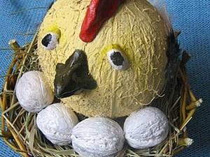 Делаем курочку в гнезде. Ярмарка Мастеров - ручная работа, handmade.
