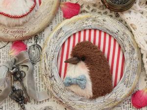 Делаем панно «Птички». Ярмарка Мастеров - ручная работа, handmade.