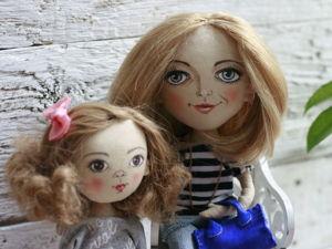 Видеоурок: делаем причёску кукле. Ярмарка Мастеров - ручная работа, handmade.