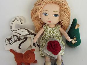Мастер-класс для девочек: шьем новогоднюю елочку из фетра. Ярмарка Мастеров - ручная работа, handmade.