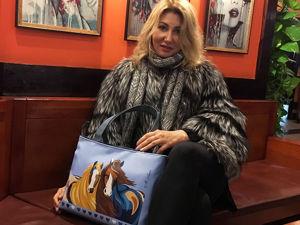 Актуальный тренд: женская сумка «Краса и Буря». Ярмарка Мастеров - ручная работа, handmade.
