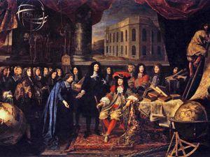 Кольбер. Представление членов королевской академии Людовику XIV, 1667. Ярмарка Мастеров - ручная работа, handmade.
