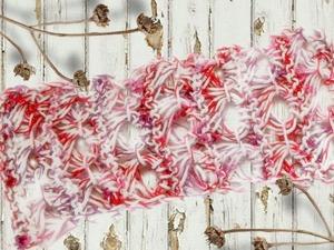 Видео мастер-класс: вяжем перуанский узор  «Брумстик»  спицами. Ярмарка Мастеров - ручная работа, handmade.