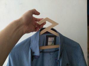 Вешалка-плечики из фанеры своими руками. Ярмарка Мастеров - ручная работа, handmade.