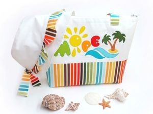 Sewing a Wonderful Beach Bag and Panama Set for Girls. Livemaster - handmade
