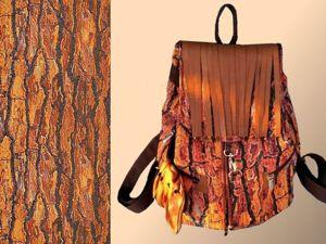Шикарный эксклюзивный рюкзак из гобелена  «КЕДР». Ярмарка Мастеров - ручная работа, handmade.