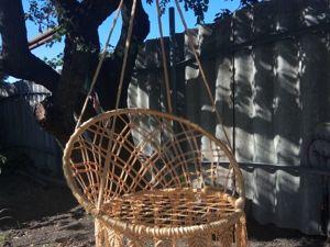 Как сплести круглые садовые качели (плетеное кресло) в технике макраме. Ярмарка Мастеров - ручная работа, handmade.