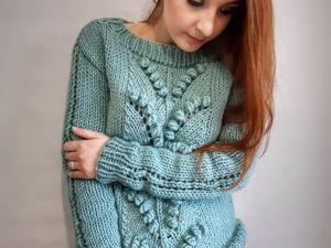 Хмельной свитер. Ярмарка Мастеров - ручная работа, handmade.