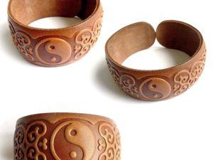 НОВИНКИ !!! Браслеты из натуральной кожи. Ярмарка Мастеров - ручная работа, handmade.