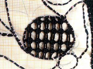 Осваиваем игольное кружево: заполнение круглого элемента. Ярмарка Мастеров - ручная работа, handmade.