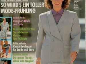 Neue mode 3 1989 (март). Ярмарка Мастеров - ручная работа, handmade.
