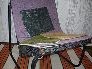Преображение старого кресла. Ярмарка Мастеров - ручная работа, handmade.