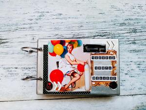 Чековая книжка в стиле Pin Up. Ярмарка Мастеров - ручная работа, handmade.