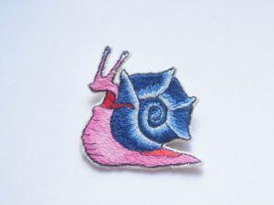 Вышиваем брошку «Безумная улитка». Ярмарка Мастеров - ручная работа, handmade.