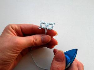 Осваиваем фриволите: соединяем два кольца между собой. Ярмарка Мастеров - ручная работа, handmade.