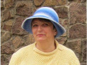 Мастерим вязано-валяную шляпку. Ярмарка Мастеров - ручная работа, handmade.