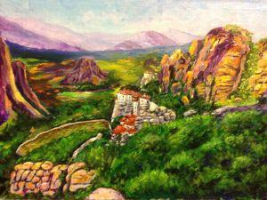 Поднебесные греческие монастыри. Ярмарка Мастеров - ручная работа, handmade.