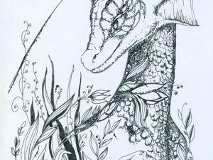 Сказочный гороскоп Олёны Коневой. Овен — Змей Горыныч. Ярмарка Мастеров - ручная работа, handmade.