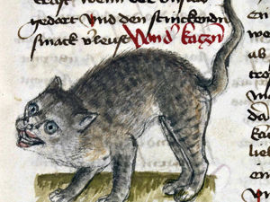Этим котикам тоже тяжело: 20 странных изображений котов от средневековых художников. Ярмарка Мастеров - ручная работа, handmade.