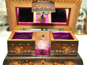 Звезда Моей Коллекции Музыкальная Шкатулка с Танцующей Балериной. Ярмарка Мастеров - ручная работа, handmade.