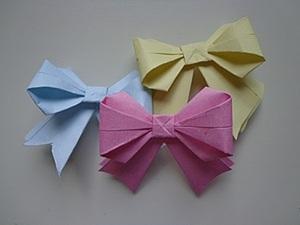 Бантик из бумаги. Ярмарка Мастеров - ручная работа, handmade.