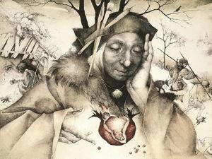 Выдающаяся графика художницы Марины Рихтеровой. Ярмарка Мастеров - ручная работа, handmade.