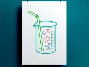Коктейль-аватар для аккаунта Инстаграм. Ярмарка Мастеров - ручная работа, handmade.