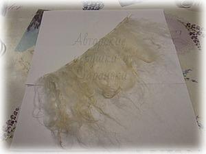 Делаем трессы из козьей шерсти легко и просто. Ярмарка Мастеров - ручная работа, handmade.