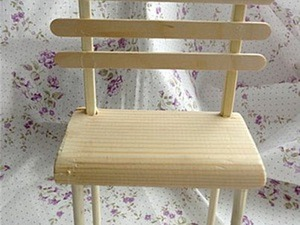 Мастерим стульчик для куклы. Ярмарка Мастеров - ручная работа, handmade.