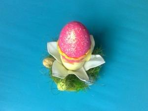 Мастерим подставку под яйцо «Нарцисс». Ярмарка Мастеров - ручная работа, handmade.