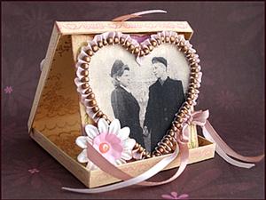 Винтажная валентинка - подарок с историей.. Ярмарка Мастеров - ручная работа, handmade.