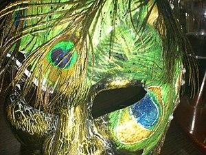 """Декорирование Венецианской маски """"Джокер"""". Ярмарка Мастеров - ручная работа, handmade."""