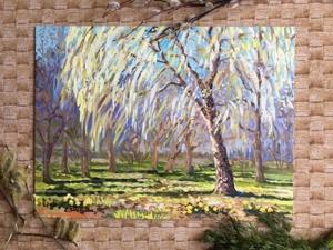 Солнечные брызги! Совсем новый пейзаж. Ярмарка Мастеров - ручная работа, handmade.