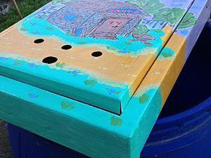 Декорируем почтовый ящик. Ярмарка Мастеров - ручная работа, handmade.