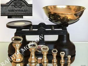 Весы гири как у Высоцкой бронза латунь SALTER 3. Ярмарка Мастеров - ручная работа, handmade.