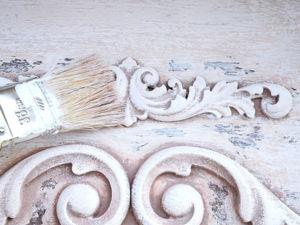 Реставрируем старую полку и декорируем ее в стиле шебби-шик. Ярмарка Мастеров - ручная работа, handmade.