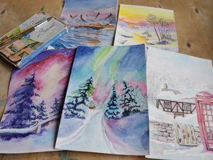 Зимние пейзажи. Ярмарка Мастеров - ручная работа, handmade.