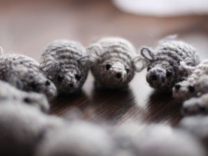 Crochet Pocket Baby Rat. Symbol of 2020. Livemaster - handmade