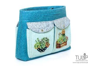 Bag in bag — шьем удобный органайзер для сумки. Ярмарка Мастеров - ручная работа, handmade.