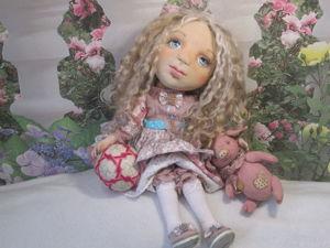 Кукла Оленька. Ярмарка Мастеров - ручная работа, handmade.