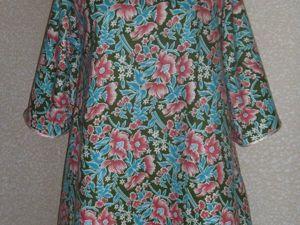 Платье без выкройки за 1 час (с двумя мерками). Ярмарка Мастеров - ручная работа, handmade.