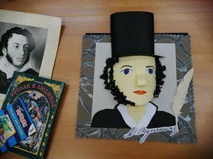 Мастер-класс «портрет Александра Пушкина». Ярмарка Мастеров - ручная работа, handmade.